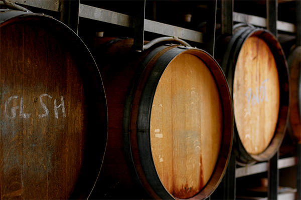 Wine Barrels, Agriculture Photography