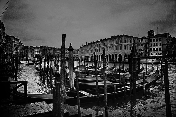 Venice, 35MM B&W, Artistic Photography