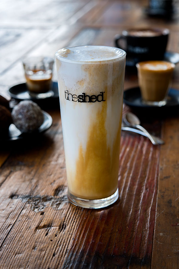 Caramel Fredo, The Shed, food and beverage and lifestyle photography