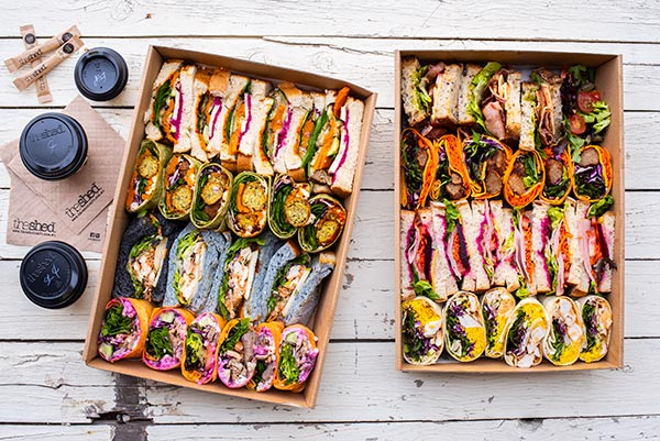 Catering, Sandwiches The Shed, food and beverage and lifestyle photography