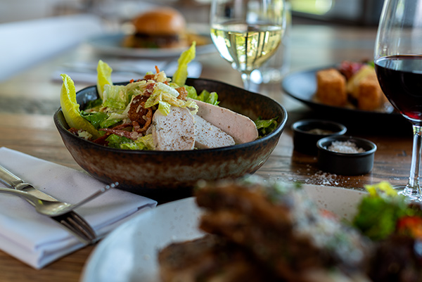 Ceasar Salad, Food Photography, Bella Restaurant, Yarra Valley Lodge