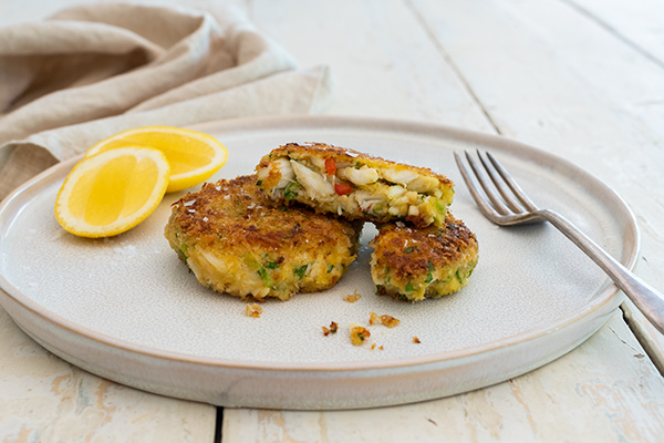 Crab Cakes, Food Photography, Bistro Sociale, Guy Adamson, Sydney Photographer