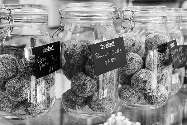 Bliss balls, The Shed, food and beverage and lifestyle photography